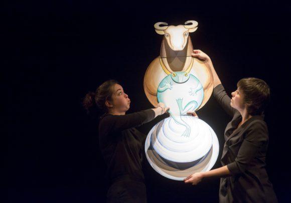 La Fontaine, création du Théâtre Sans Toit, représentattion au Pôle Culturel de Coulanges de Gonesse, le 5 février 2014
